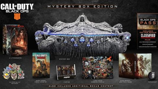 Call of Duty: Black Ops 4 'Mystery Box' Collector's Edition goes up for preorder