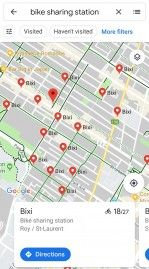 Google Maps Adds Real-Time Bike Sharing Info