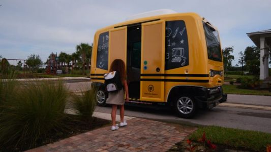 Feds shut down ill-advised driverless school bus tests in Florida