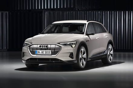 Audi is finally taking the wraps off its Tesla-fighting e-tron electric SUV