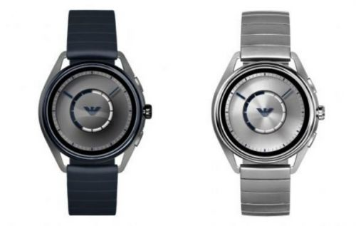Emporio Armani Wear OS smartwatch adds heart rate sensor and more