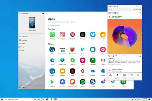 Windows 10 Android Apps Mirroring Now Available Globally
