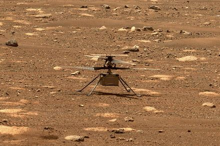 First test flight of Mars helicopter Ingenuity set for tomorrow
