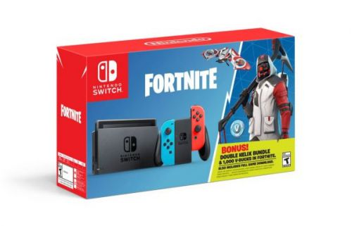 Fortnite Switch bundle announced with in-game freebies