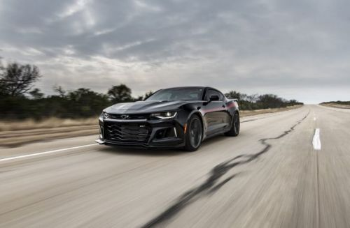 "Hennessey's 1,000 HP Camaro ""Exorcist"" is a 217mph must-see"