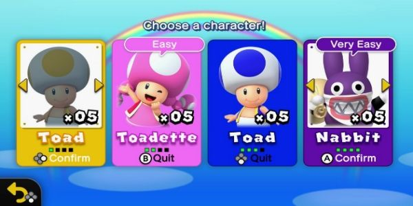 Yes, Blue Toad Is Playable In New Super Mario Bros U. Deluxe