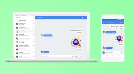 Google to begin rolling out Android Messages for the web from today
