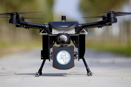 DroneCatcher upgrade lets this net-gun security drone stay in the sky