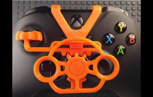 Xbox One controller mod adds a 3D printed mini steering wheel