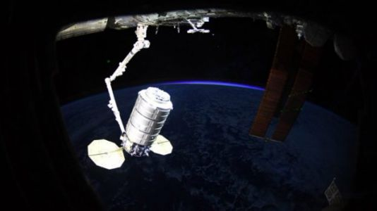 Cygnus Capsule Delivers Delicious Easter Feast to Space Station