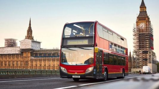 London Buses, Like People, Fuel Up on Coffee