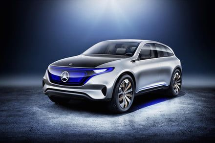 Mercedes-Benz is about to launch its electric car offensive