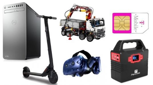 Geek Deals Roundup: $300 Segway Electric Scooter, $70 Portable Power Station, and more