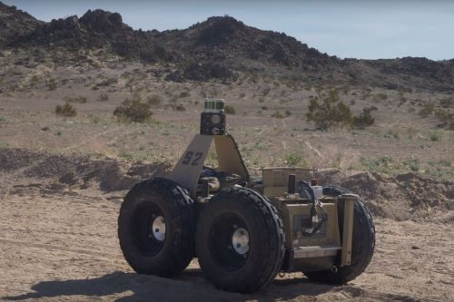 DARPA's Squad X project pairs Marines and robots to eliminate the fog of war