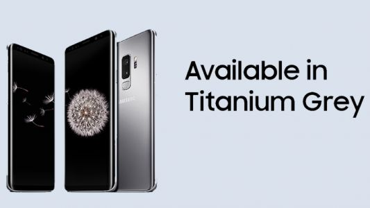 The incredible £23 per month Galaxy S9 deal is back - and now in Titanium Grey