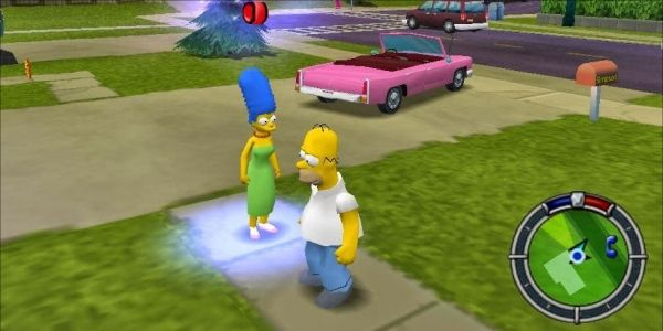 Simpsons Fans Are Trying To Make A Hit & Run Sequel Happen At Rockstar