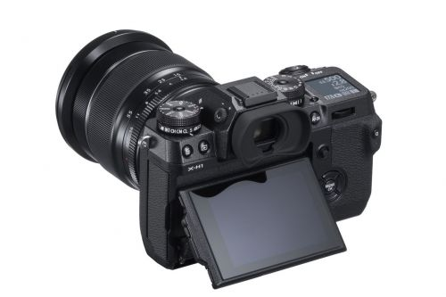 Fujifilm announces video-focused X-H1 with in-body image stabilization