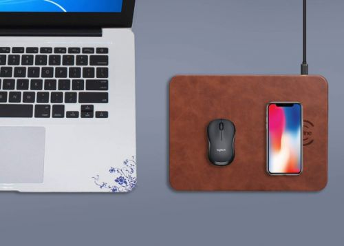 This $17 mouse pad might seem pricey, but it has a built-in wireless charger