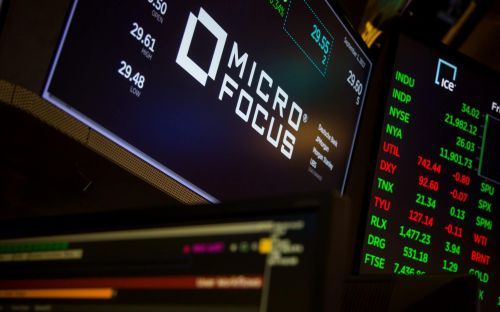 The boss of Britain's biggest tech business Micro Focus quits as revenues disappoint