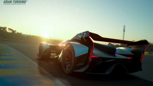 McLaren Ultimate Vision GT is a 1134hp hybrid virtual beast