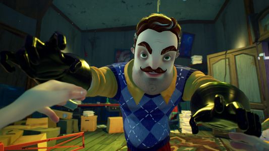 Hello Neighbor 2 trailer shows off sneaking, showering, and new gameplay