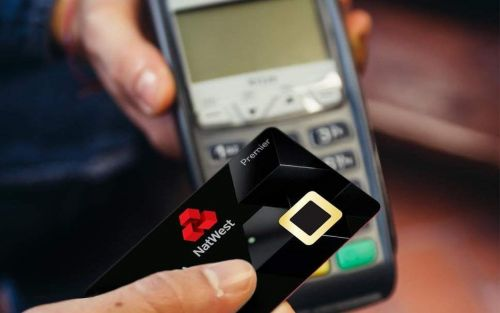 NatWest launches the UK's 'first biometric fingerprint debit card'