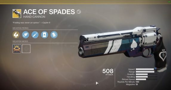 Ace of Spades Guide: How To Complete Cayde's Will In Destiny 2: Forsaken