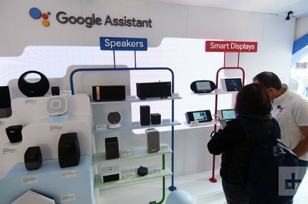 Google may release a digital display smart speaker in time for the holidays