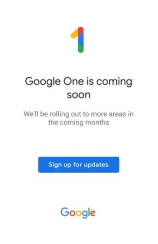 Google One App Now Available For Download From Play Store