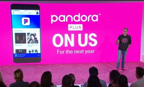 T-Mobile serves up free Pandora and Live Nation perks to subscribers