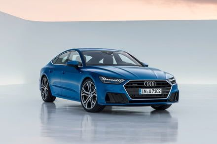 Redesigned Audi A7 doubles down on tech with a standard mild-hybrid powertrain