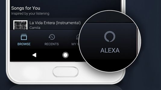 Alexa has come to mobile Amazon Music streaming