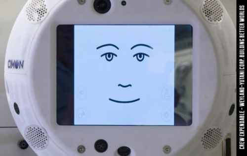 CIMON the floating robot head brings AI to the ISS