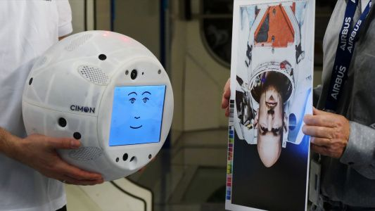 IBM is launching a flying 'robotic brain' into space that will work with and monitor astronauts