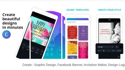 Canva for Android updated with support for custom sized design and some important fixes as well