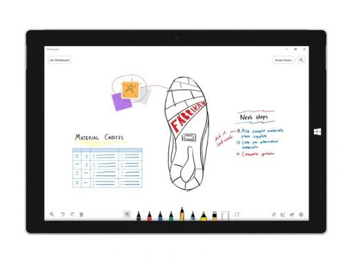 Microsoft Whiteboard exits preview for Windows 10, coming soon to iOS and the web