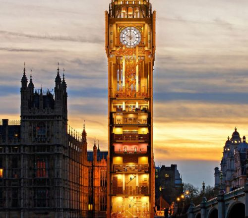 The daftest image of Big Ben you will ever see