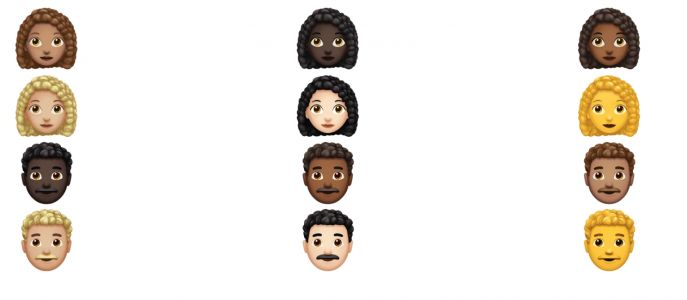Apple emoji will soon include people with curly hair, white hair and superpowers
