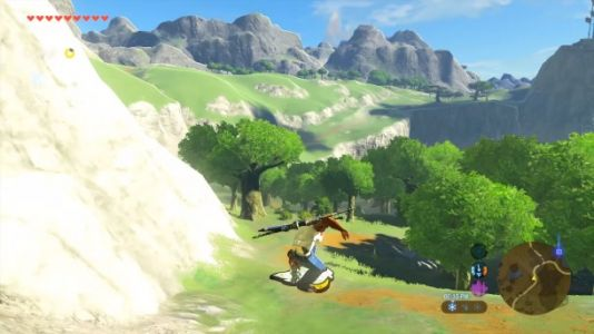 San Andreas' CJ Ventures To Hyrule In This Breath Of The Wild Mod