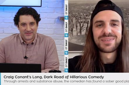 Comedian Craig Conant discusses sobriety, comedy, and throwing fireworks at cops