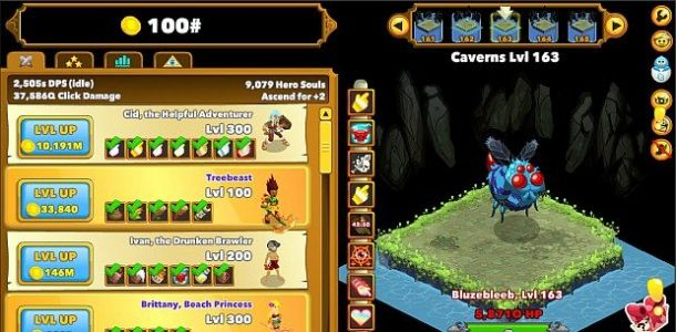 """Clicker Heroes 2 ditches free-to-play in favor of """"cleaner conscience"""""""
