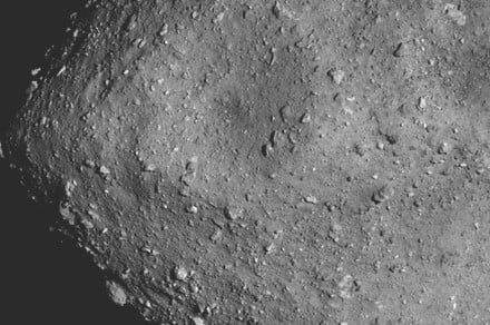 Asteroid Ryugu is porous, shaped like a spinning top, and is formed of rubble