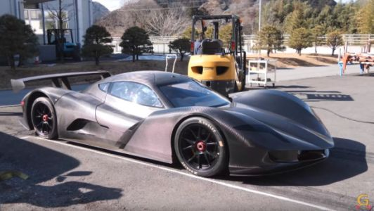 Watch a Japanese hypercar go from 0-60 MPH in 1.9 seconds