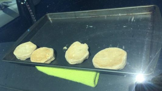 National Weather Service Bakes Biscuits Inside Hot Car to Demonstrate Heat in Nebraska