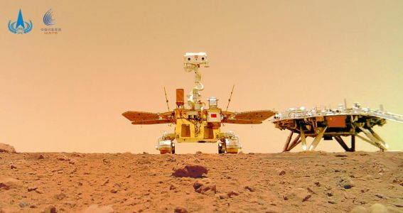 China releases new Mars rover selfie on the red planet