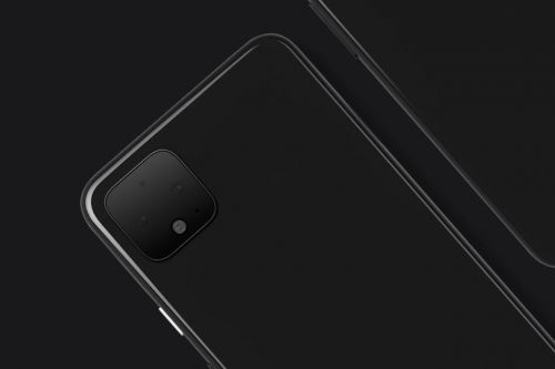 The Pixel 4 has already been photographed out in the wild