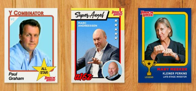 A San Francisco based company has made trading cards of Silicon Valley's top VCs because, well, it's Silicon Valley