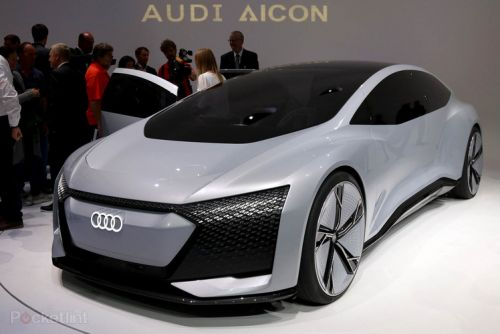 Audi Aicon: A glimpse at a fully autonomous future and ultra-impressive user interface