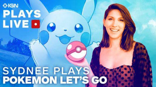 Sydnee's Livestreaming 2 Hours of Pokemon: Let's Go, Pikachu