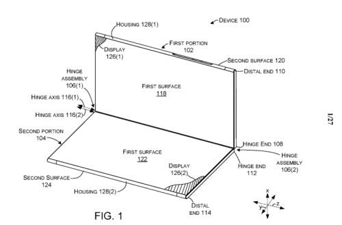 Surface 'Andromeda' patent points to pop-up folding, edge notifications
